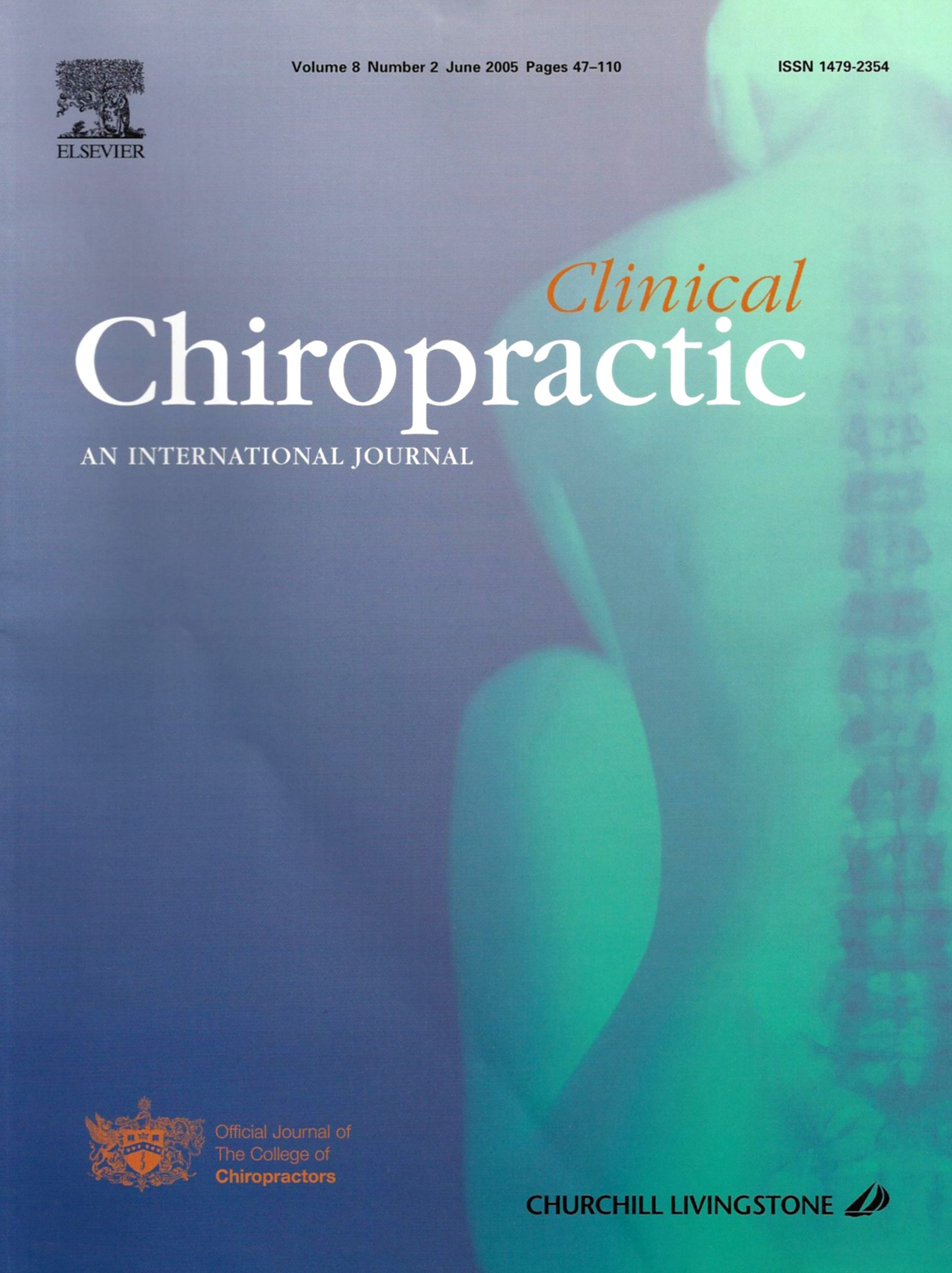 Clinical Chiropractic textbook cover