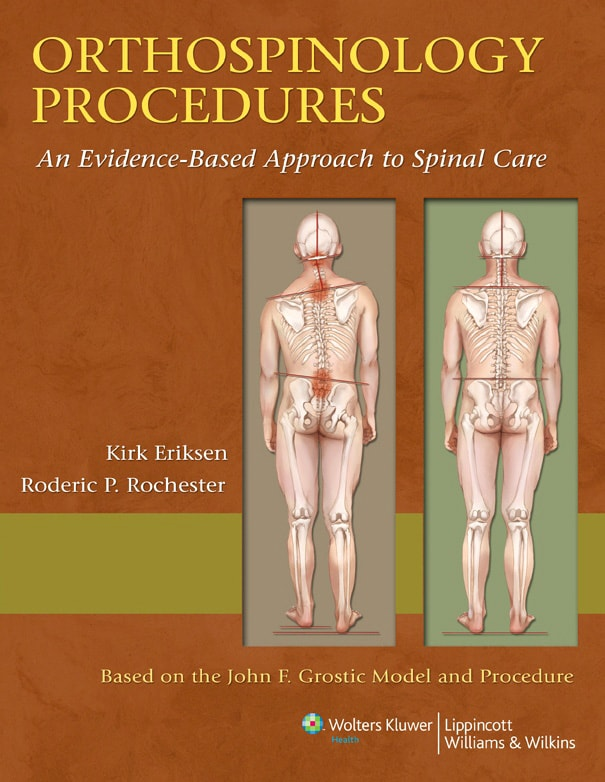 Orthospinology Procedures textbook cover
