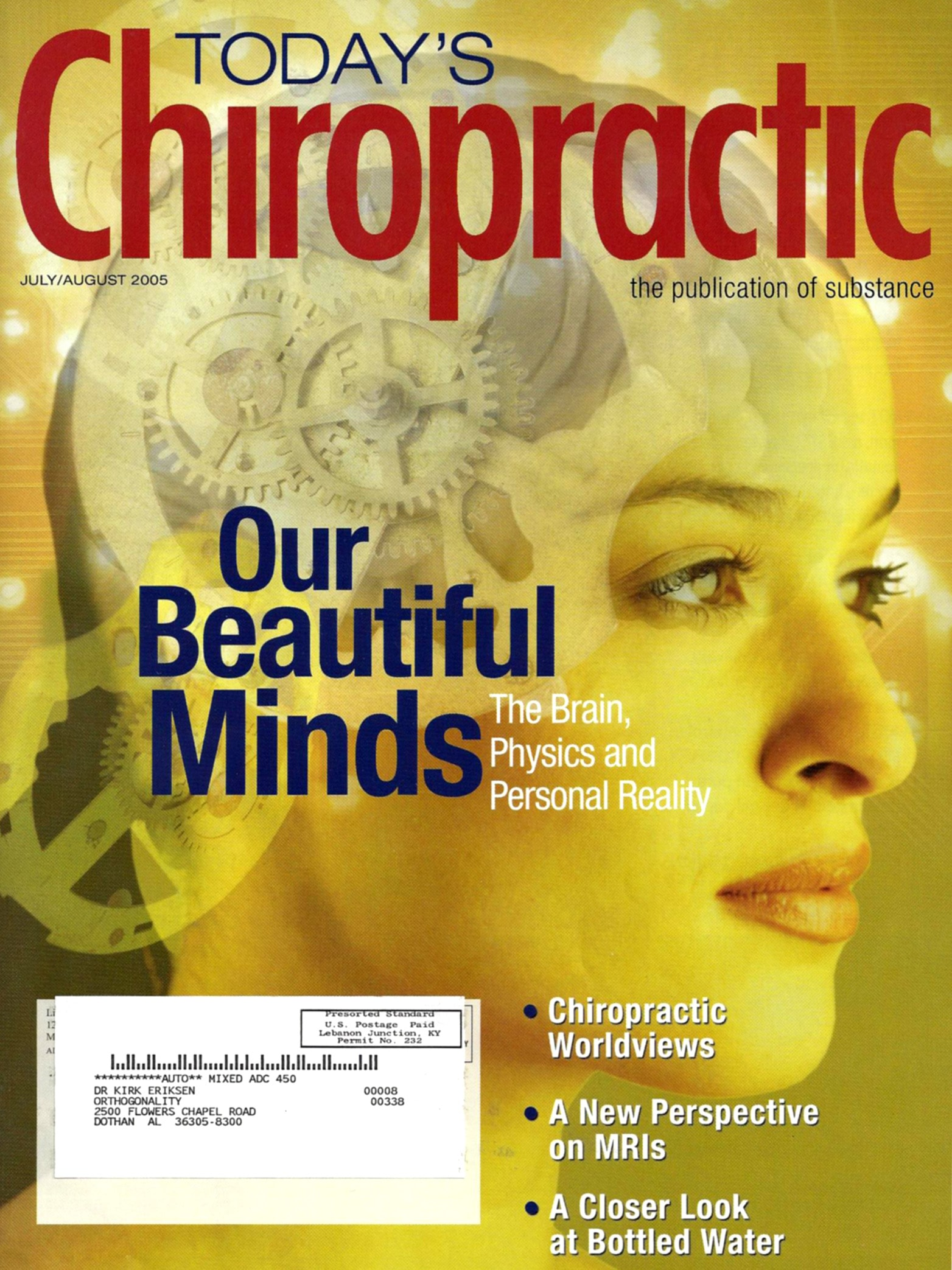 Today's Chiropractic July - August 2005
